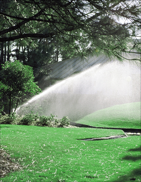 Sprinklers can be installed by Landco