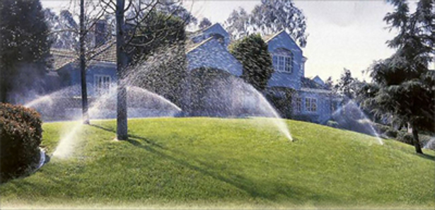 Sprinkler systems by Landco Outdoors